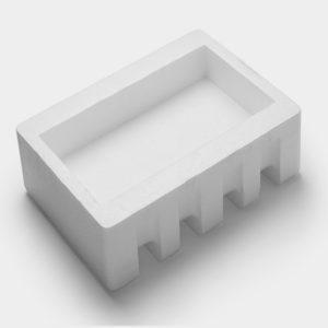 white foam packaging